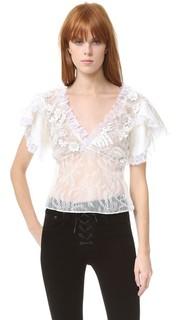 Кружевная блуза Rodarte