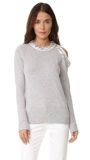 Пуловер с длинными рукавами и декоративной отделкой 3.1 Phillip Lim