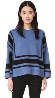 Bold Stripe Sweater Derek Lam 10 Crosby