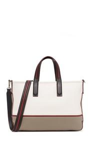 Объемная сумка с короткими ручками Greenwich среднего размера Dkny