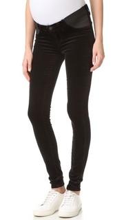 Бархатные джинсы для беременных J Brand