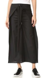 Юбка-брюки с завязками MM6