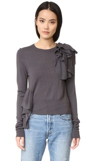 Ruffle Sweater MM6