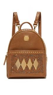 Рюкзак Baby с кристаллами MCM