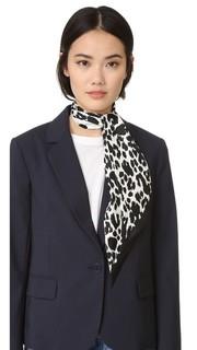 Шарф с леопардовыми пятнами и рисунком в горошек Marc Jacobs
