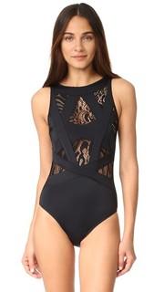 Сплошной купальник Esther с кружевной отделкой OYE Swimwear
