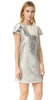 Платье Lynx с блестками Rebecca Minkoff