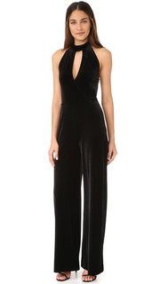 Velvet Halter Jumpsuit 7 For All Mankind