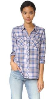 Рубашка на пуговицах Lilya Soft Joie