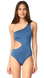 Сплошной купальник Claudia Solid & Striped