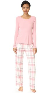 Нарядная фланелевая пижама Splendid