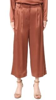 Укороченные брюки со складками Tibi