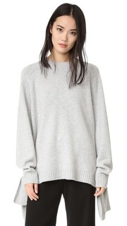 Кашемировый пуловер с завязкой Tibi