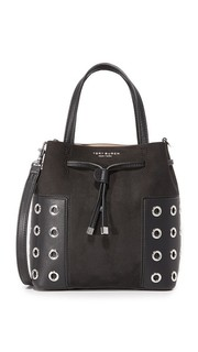 Миниатюрная сумка-ведро Block T с люверсами Tory Burch