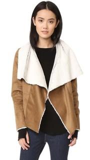 Куртка Bourne из искусственной короткой шерсти BB Dakota