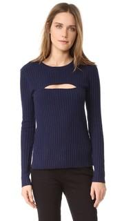 Рубчатый свитер с запахом Frame