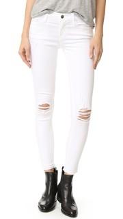 Укороченные джинсы-скинни De Jeanne Frame