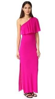 Платье с открытым плечом Fuzzi