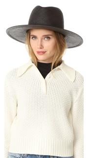 Lynn Short Brimmed Panama Hat Janessa Leone