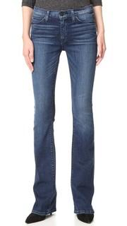 Буткат-джинсы средней посадки Love Hudson