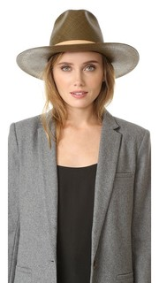 Lani Tall Crown Panama Hat Janessa Leone