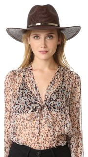 Emma Short Brimmed Panama Hat Janessa Leone