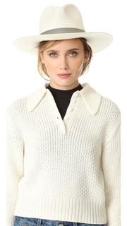 Celia Short Brimmed Panama Hat Janessa Leone