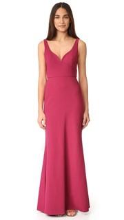 Вечернее платье с вырезом сердечком Jill Jill Stuart
