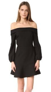 Платье Freya с открытыми плечами Line & Dot