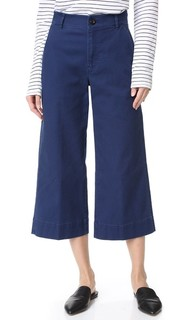 Широкие укороченные брюки Langford Madewell