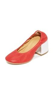 Эластичные туфли-лодочки MM6