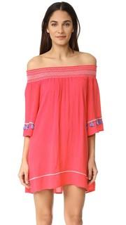 Богемное короткое платье Ondade Mar