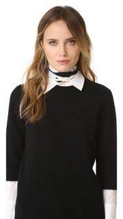 Очень узкий выбеленный шарф Rockins