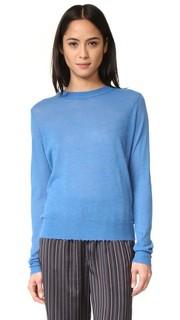 Кашемировый свитер с поношенной отделкой Vince