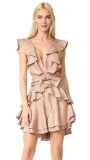 Платье Winsome с оборкой Zimmermann