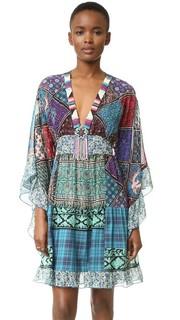 Платье Patchwork Anna Sui
