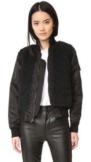 Aviator Sherpa Jacket Mother