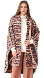 Пальто-накидка в богемном стиле See by Chloe