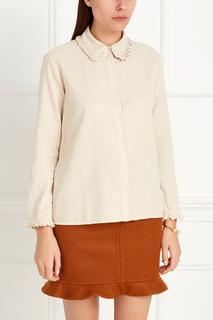 Хлопковая блузка Feldspar Caramel