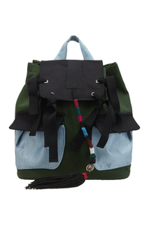 Вельветовый рюкзак J.Kim