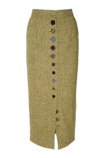 Шерстяная юбка J.Kim
