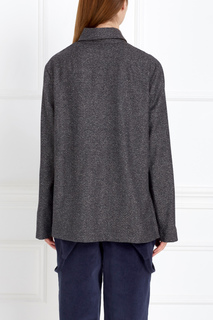 Рубашка из шерсти и хлопка J.Kim
