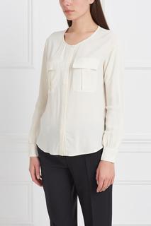 Однотонная блузка Stefanel
