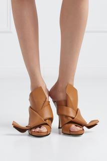 Кожаные туфли-мюли Ronny No.21