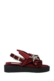 Бархатные сандалии Italo No.21