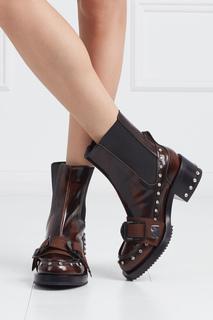 Кожаные ботинки Army No.21