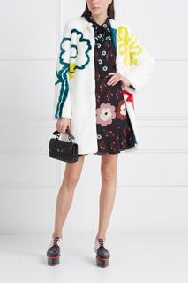 Пальто из эко-меха Happy Flowers Mira Mikati