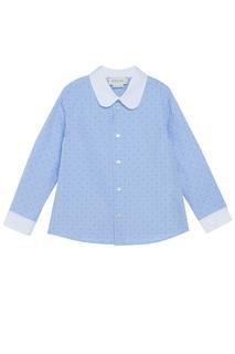 Хлопковая рубашка Gucci Children