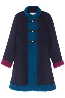 Пальто из кашемира и шерсти Gucci Children