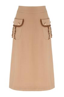 Шерстяная юбка Laroom